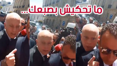 باريس: الجالية التونسية تحتج على أحداث تطاوين وقيس سعيد يتشنج