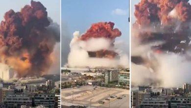 إنفجار بيروت إرتفاع عدد الضحايا والجرحى بالآلاف