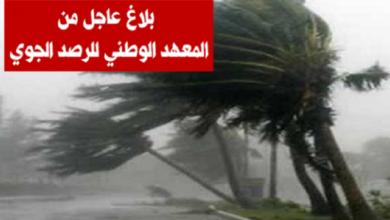 نشرة خاصة أمطار غزيرة تصل إلى 80 مليمترا ورياح قوية في هذه المناطق