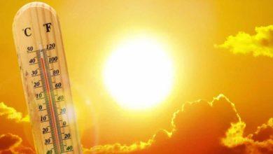الجمعة حالة الطقس ودرجات الحرارة