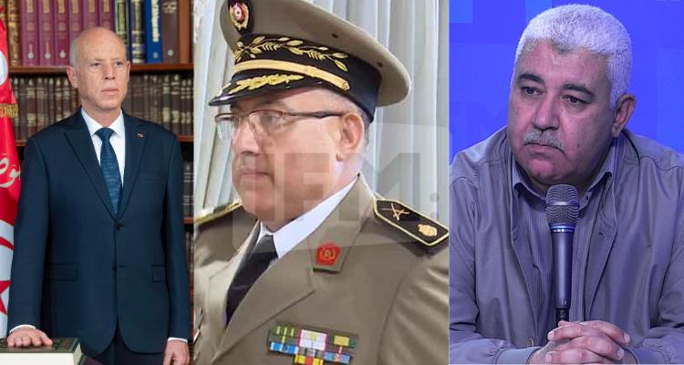صالح عطية قيس سعيد في خلاف حقيقي مع رئيس اركان جيش البر